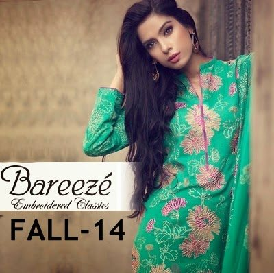 Bareeze Winter Collection 2014 With Prices Bareeze-fall-winter-2014-2015