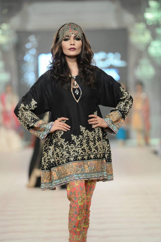 Zara shahjahan at pfdc l oreal paris bridal week collection 2014 13 pakista - Zara collection 2014 ...
