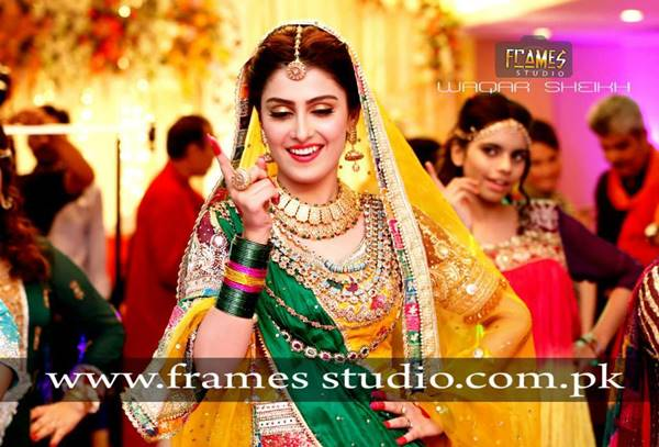 Ayeza Khan Full Dance Video On Her Wedding