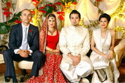 Seemi raheel pictures of wedding