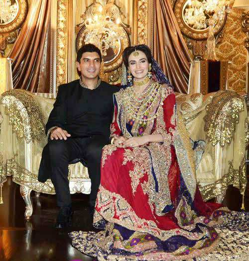 Mehreen Syed Wedding Pictures | Pakistani Drama Celebrities