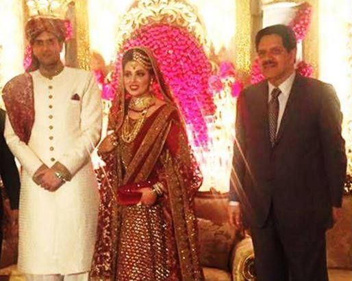 Pm s granddaughter wedding ceremony pictures aaj news