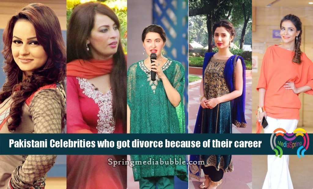 Pakistani-Celebrities-who-got-divorce-because-of-their-career-1024x620