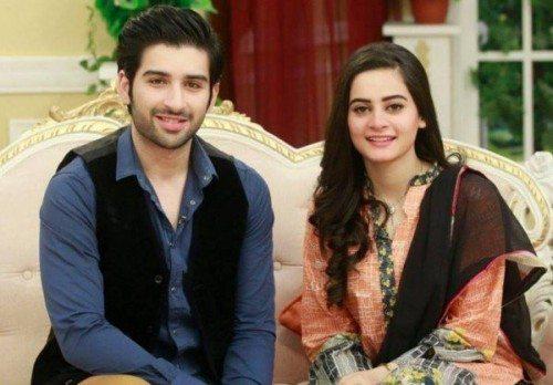 Paki couple celeb 1st anniv fm karachi