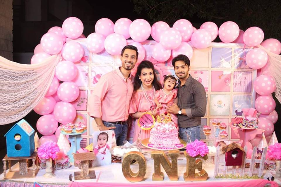 Humaima Malik Throws A Birthday Party For Her Niece Daughter Of Dua Malik Pakistani Drama