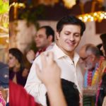Nadia Jamil With Her Husband and Son In A Family Wedding