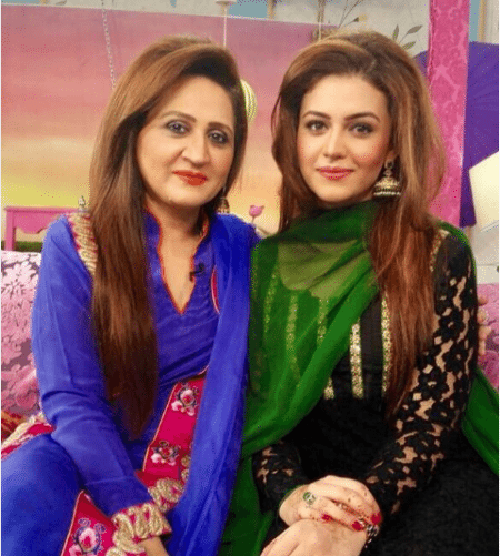 Asma Abbas With Her Beautiful Daughter Zara Noor Abbas