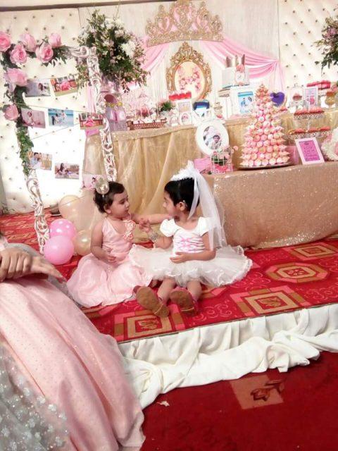 ayeza khan daughter hoorain 1st birthday 2016 11 e1468609146153 - Royal Wedding Fashion
