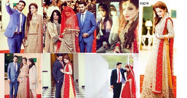 Quratulain-Arif wedding pictures (8)