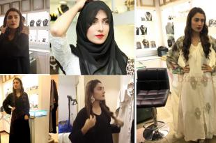ayeza khan in abaya and scarf (1)