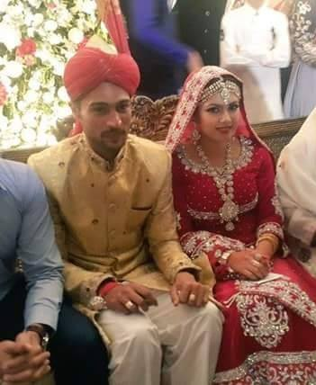 cricketer muhammad amirs weddings exclusive videos and