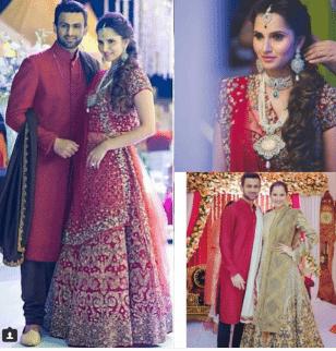 Sania Mirza Sister Anum Wedding 11