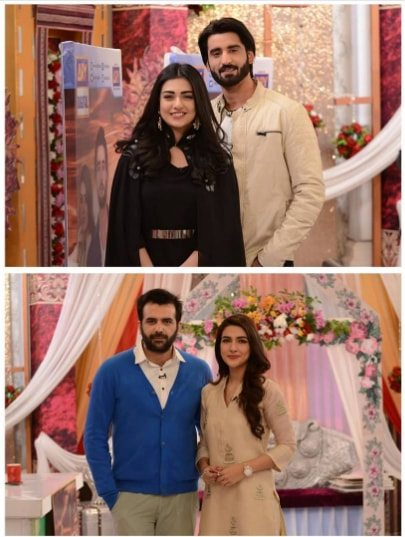 agha alisarah khan rubab hashim nida yasir show pakistani drama celebrities