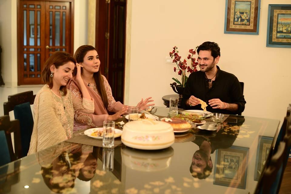 Beautiful Pictures Of Sarwat Gillani Amp Fahad Mirza Home
