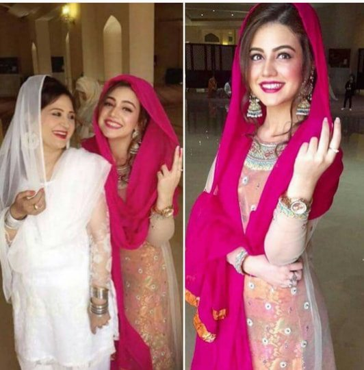 Gorgeous Mom And Daughter Asma Abbas And Zara Noor Abbas