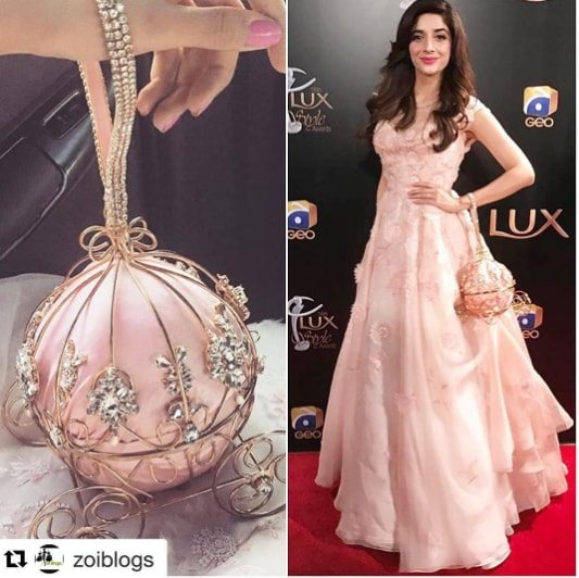 Gorgeous Mawra Hocane At Lux Style Awards Last Night