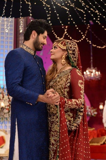 Actor Syed Jibran & Wife Afifa Jibran Wedding in Nida ...