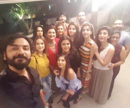 saba people celebrities at the granf birthday party of saba hameed last night