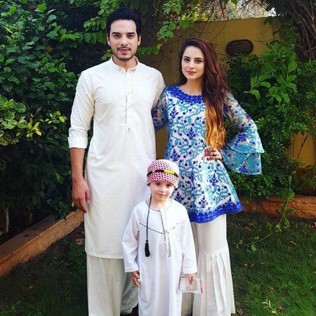 kanwar arsalan amp fatima effendi with their beautiful son