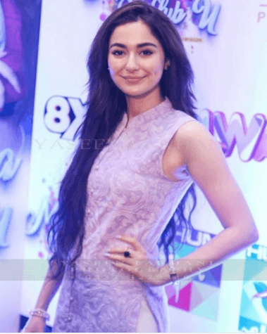 Beautiful Hania Amir At The Premier F Her Movie