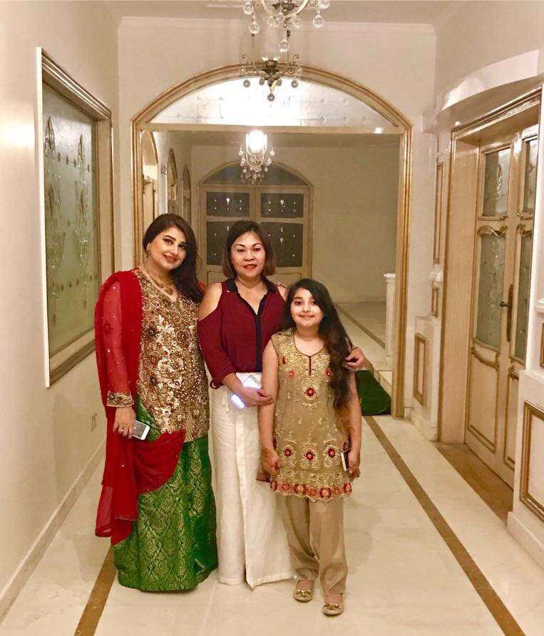 Wedding Reception/Walima Pictures of Javeria Saud's Sister ...