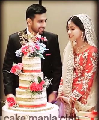Beautiful Complete Wedding Pictures Of Zaid Ali With His