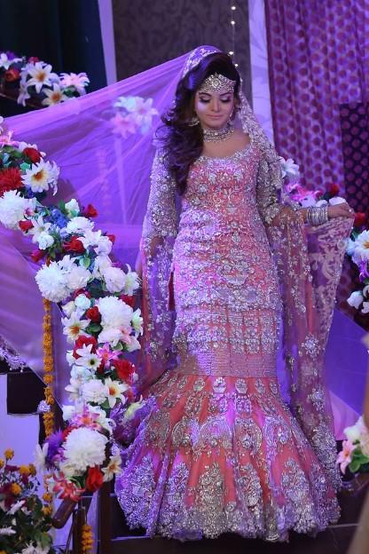 Kashees Bridal Makeup In Shaista Lodhi Morning Show