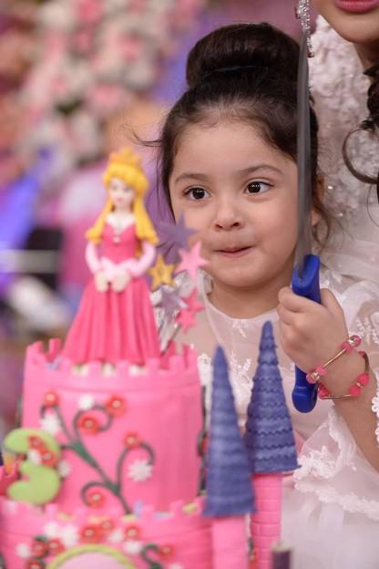 Fiza Ali Celebrate Her Daughter Faraal Birthday In Sanam