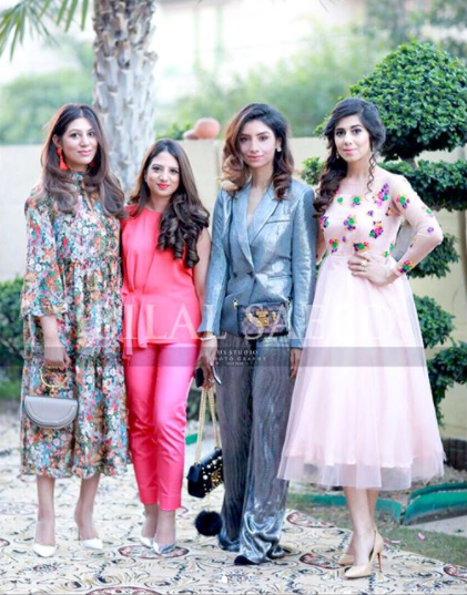 Maya Ali At The Bridal Shower Of Her Best Friend Libah Ch