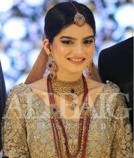 Beautiful Walima Reception Pictures Of Syeda Alizey Raza