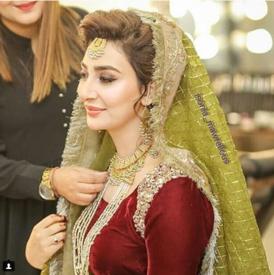 Complete Mehndi Event Pictures Of Beautiful Ayesha Khan