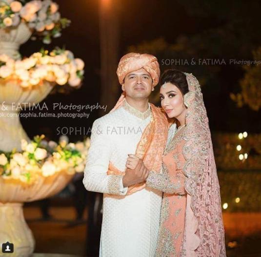 Beautiful Clicks of Gorgeous Ayesha Khan on her Wedding ...