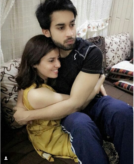 Beautiful Clicks Of Bilal Abbas With Her Sister Sana