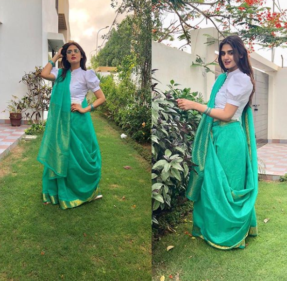Beautiful Clicks Of Hira Amp Mani With Family On Eid Day