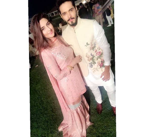 beautiful clicks of actor wahaj ali with his wife