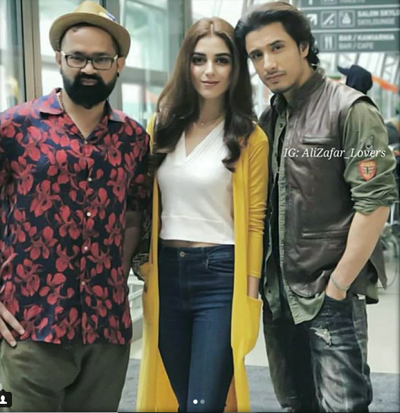 gorgeous maya ali durring promotion of her upcoming debut