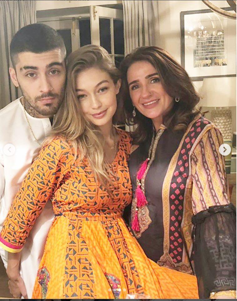 Zayn Malik And Gigi Hadid Clelebrate Eid Together In