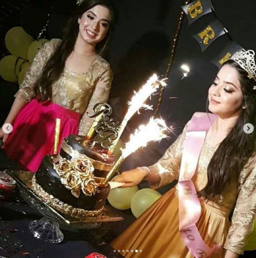 Actress Sarah Razi Sister Of Arisha Razi Bridal Shower