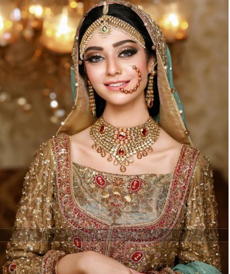 Beautiful Bridal Shoot Of Noor Khan