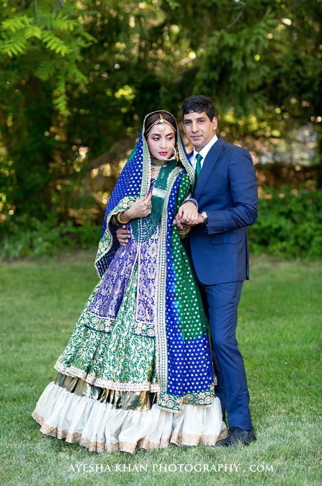 Beautiful Wedding Pictures of Actress Saman Ansari ...