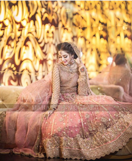 Most Beautiful Bridal Shoot Of Actress Alizeh Shah