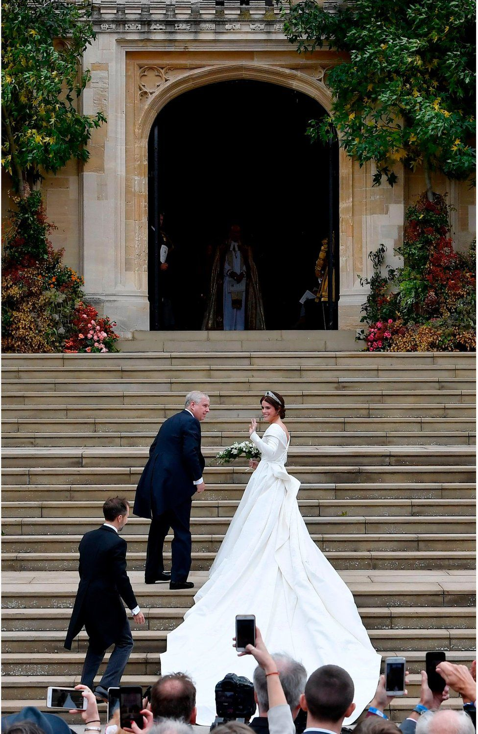 Beautiful Pictures Of British Royal Wedding Of Princess Eugenie Grand Daughter Of Queen