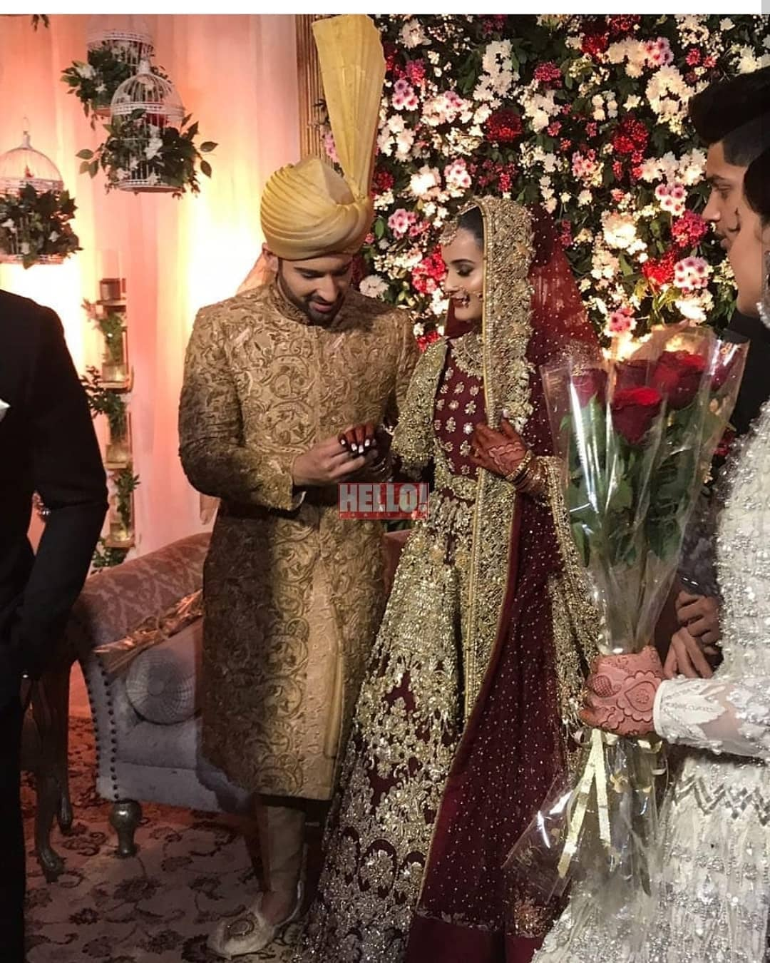 Beautiful Pictures & Videos of Aiman and Muneeb Wedding ... - photo#38