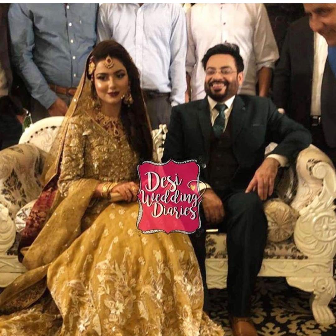 Amir Liaquat 2nd Wedding Reception Happening In Karachi | Pakistani