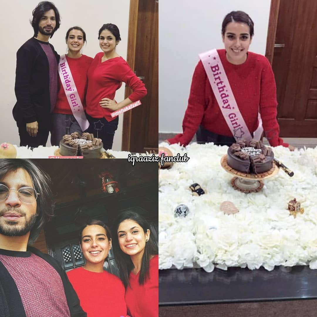 Privacy Policy >> Iqra Aziz Celebrating her Birthday with her Family ...