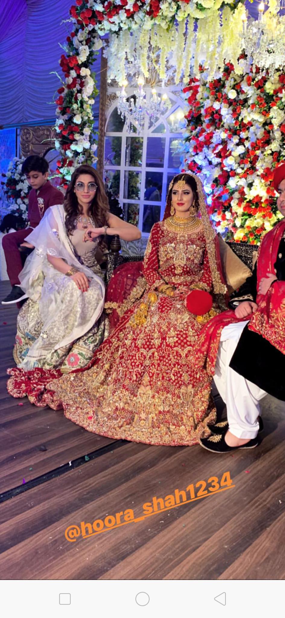 Beautiful Clicks Of Sana Fakhar At A Family Wedding Event