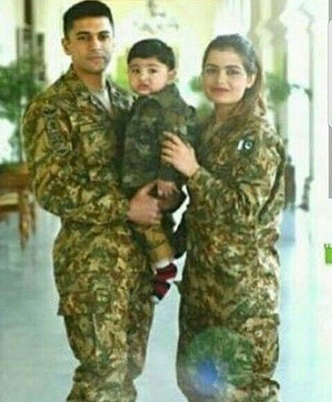 Pakistan Army Couples Who Got Married In A Different Way