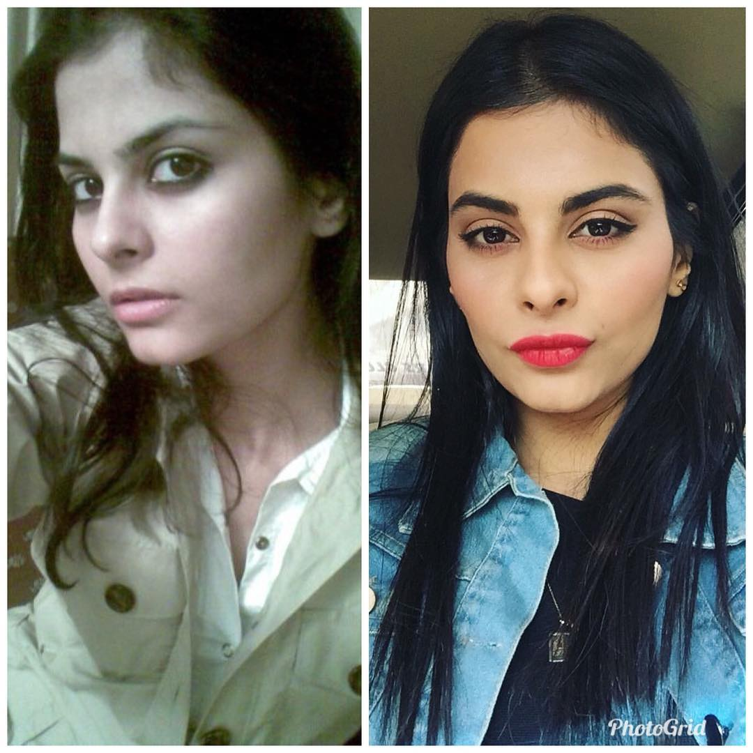 Pakistani Celebrities 10 Years Challenge Pictures