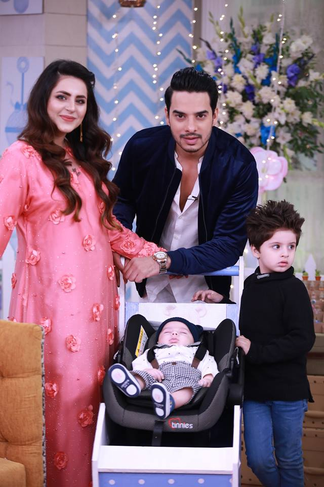 Fatima Effendi & Arslan Kanwar New born Baby Celebration