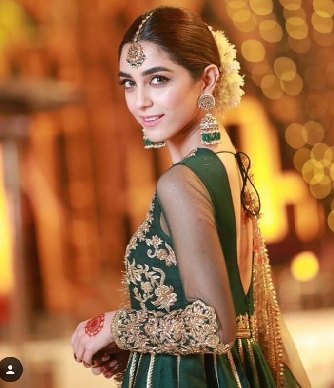 beautiful maya ali at her friend mehndi event pakistani
